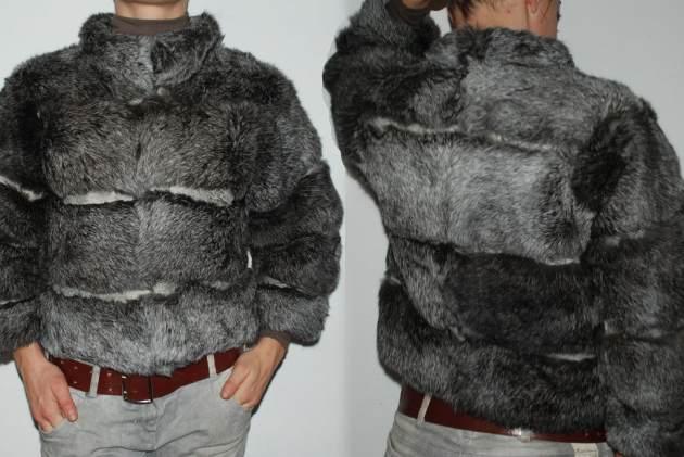Одежда из серебристого кролика