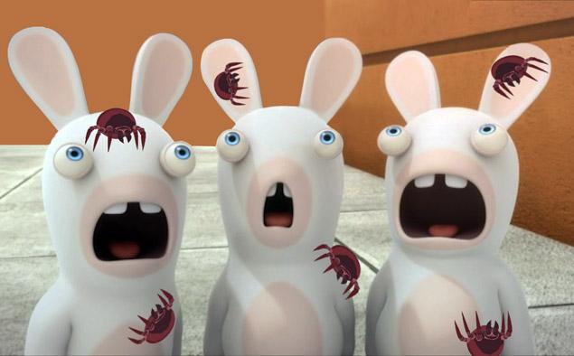 облысение кролика